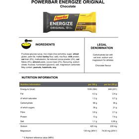 PowerBar Energize Original confezione di barrette 25 x 55g
